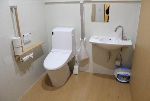【バリアフリー化トイレ1】
